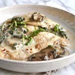 Creamy Mushroom Chicken - Sconce & Scone - Gluten Free