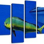 Home & Garden Mahi Mahi Parking Sign Wall Plaque Gifts Men Fishing  Fishermen Fish Dolphin Home Décor