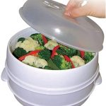 As Seen on TV 2 Tier Microwave Steamer (12 units)   Steam recipes, Microwave  steamer, Cooking