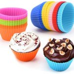 enjoy saving 30-50% off Silicone Baking Cups, Reusable Silicone Bakeware Baking  Muffin Cups for Cupcake Liners Molds, Muffin Liners Molds Sets, BPA Free  and FDA Approved Muffin Silicone Cups Moulds,Non-Stick, Heat Resistant