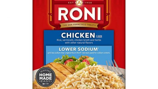 Review - Rice-A-Roni Rice Mix Chicken Lower Sodium