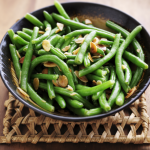 Steamed Green Beans in the Microwave • Steamy Kitchen Recipes Giveaways