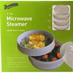 Amazon.com: 2 Tier Microwave Steamer Healthy Cooking Quick Fast Vegetables,  Fish, Shellfish Oil Free Cooker: Home & Kitchen