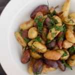 Oven Roasted Fingerling Potatoes with Herbs & Vinegar Recipe   Food & Drink    Rip & Tan