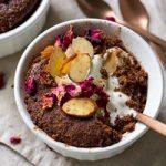 Healthy Almond Chocolate Mug Cake | Nourish Every Day