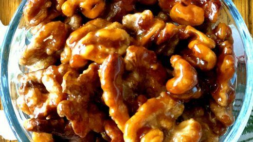 Sugar Glazed Walnuts Recipe | Allrecipes