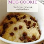 Chocolate Chip Cookie In A Mug   No Egg Recipe - Memoir Mug