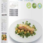 KitchenCraft KCMFISH Microwave Fish Steamer, White : Amazon.co.uk: Home &  Kitchen