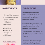 RECIPE   Keto Passionfruit Butter + Macaroons – LE PLUS THREE