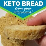 Microwave Low Carb Bread- Keto - Paleo - Gluten Free - Once Upon Delicious