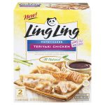 Review - Ling Ling Potstickers Teriyaki Chicken
