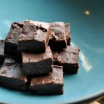 RUM BOOZY FUDGE -- minutes to make, topped with coconut