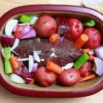 How to Make Pot Roast With Pampered Chef Stoneware | Pampered chef stoneware,  Pampered chef recipes, Roaster recipes