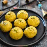 Instant Microwave Besan Ladoo Recipe By Nandita Iyer