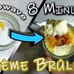 How to make best Creme Brulee recipe in Microwave | Make 1, 2 or more. NO  Bake, REAL, tasty dessert – Frakking Creations