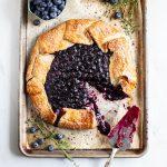 Blueberry Custard Pie • Dance Around the Kitchen