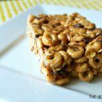 No-Bake Cheerios Peanut Butter Bars Recipe - Allergy/Gluten free