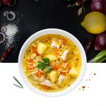 LG Cooking - CookBook : Chicken Clear Soup   LG South Africa