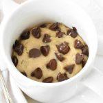 1 Minute Chocolate Chip Mug Cookie (No Egg!) - Baking Envy