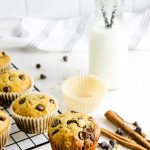 Chocolate Chip Oatmeal Muffins - The Bitter Side of Sweet