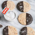 Chocolate Dipped Pistachio Shortbread Cookies – Modern Honey