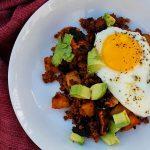Chorizo Potato Hash ⋆ Books n' Cooks