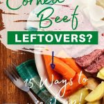 15 Easy Ways To Use Up Corned Beef Leftovers - The Kitchen Chalkboard