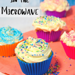 How to make Cupcakes in the Microwave | Just Microwave It