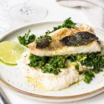 Recipe for Monkfish with Lime and Sage