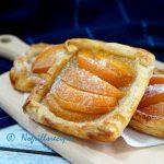 Puff Pastry Peach Tart ~ 水蜜桃挞