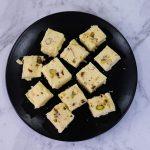Microwave Kalakand using Ricotta Cheese