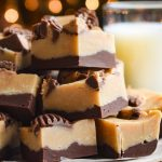 Better than Reese's Chocolate Peanut Butter Fudge - fed by sab