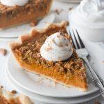 Pumpkin Streusel Pie • Dance Around the Kitchen
