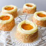 Apricot Jam Mini Cake 黃梅花籃(黃梅果醬小蛋糕)