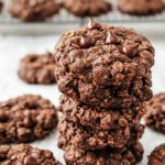 Double Chocolate Oatmeal Cookies - Wholesome Patisserie