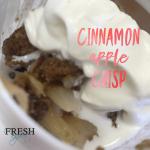 Fresh Recipe: Cinnamon Apple Crisp - The Fresh Expert