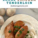 Easy Honey-Baked Chicken Tenderloin - Food Storage Moms
