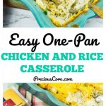 BAKED CHICKEN AND RICE CASSEROLE + GIVEAWAY! | Precious Core
