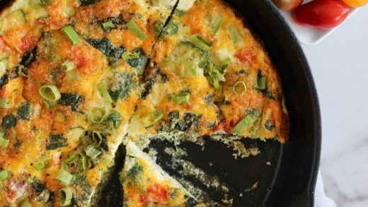 Egg White Frittata - Cheerful Choices