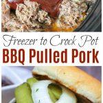 BBQ Pulled Pork Freezer Meal - Freezer Meals 101