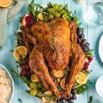 Perfect Garlic and Herb Roast Turkey - Host The Toast
