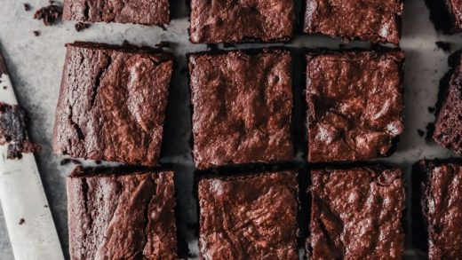 Gluten Free Classic Chocolate Brownies - Wholesome Patisserie