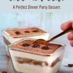 Gluten Free Tiramisu Trifle - A Perfect Dinner Party Dessert