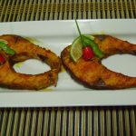 Bethica's Kitchen Flavours: Grilled Fish (In Microwave)