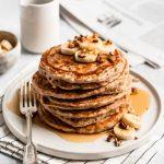 Favorite Fluffy Whole Wheat Pancakes - Hummusapien