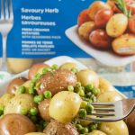 Herb Lemon Butter Peas and Little Potatoes Recipe are made in minutes