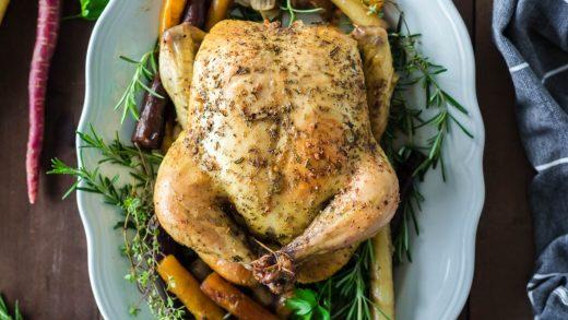 Herb Roasted Chicken Recipe - girl. Inspired.