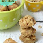 Homemade Peanut Butter Cheerio Dog Treats - Bitz & Giggles