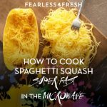 How to Cook Spaghetti Squash in the Microwave | Steamy Kitchen Recipe