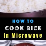 Easy Microwave Rice - TipBuzz